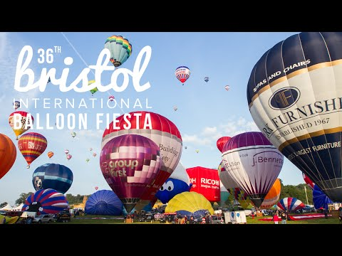 Xxx Mp4 Bristol Balloon Fiesta 2014 Timelapse Film 3gp Sex