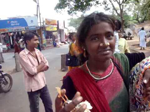 Mahabalipuram real adivasi young girl