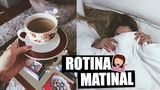 MINHA ROTINA DA MANHÃ | My Morning Routine | Julia Tedesco