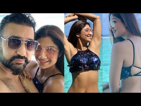 Xxx Mp4 Shilpa Shetty Looks So Hot In Bikini With Husband Raj Kundra For Anniversary Celebrations 3gp Sex