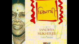 Biday Sandhya Ashilo  -Sandhya Mukherjee -Nazrul Geeti