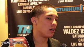 Oscar Valdez angry with not being mentioned in fights w/Russell, Santa Cruz, Mares & Selby