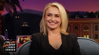 Hayden Panettiere & James Corden Disagree on Klitschko v. Joshua
