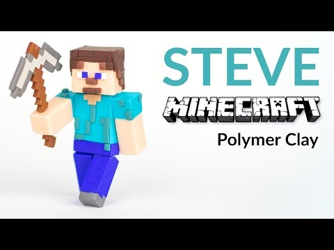Xxx Mp4 MINECRAFT Steve With Pickaxe – Polymer Clay Tutorial 3gp Sex