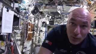Tour sulla stazione spaziale spiegato dal nostro astronauta italiano