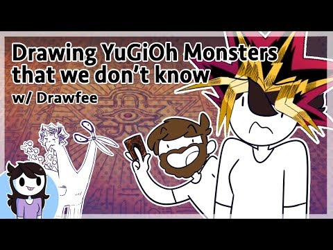 Drawing YuGiOh Monsters We don t know w Drawfee