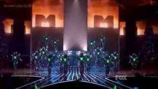 Michael Jackson's They Dont Care About Us Cirque du Soleil's - X Factor USA