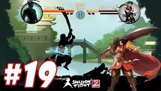 Shadow Fight 2 : Lấy được bộ đồ và thanh ĐỒ LONG ĐAO một mình chấp hết #19