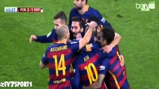 اهداف مباراة برشلونة واسبانيول 4-1 [2016/01/06] تعليق عصام الشوالي [HD]