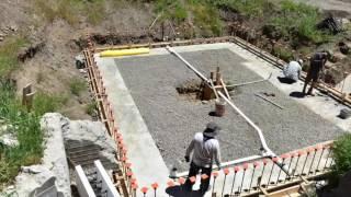 LOGIX ICF basement construction start to finish