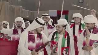 Uae creates a song for qatar