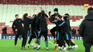 [BEHIND THE SCENES] Arsenal FC – FC Barcelona (Champions League 2015/16)