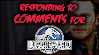 Responding to Jurassic World COMMENTS
