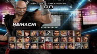 Tekken 5 | Heihachi Mishima