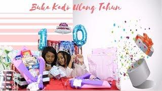 BUKA KADO ULANG TAHUN TERUSUH!!! ♥ Keira's 10th Birthday Party