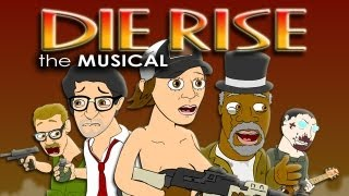 ♪ DIE RISE THE MUSICAL - Black Ops 2 Zombies Parody