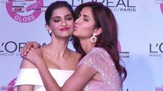 OMG: Katrina Kaif's Kiss To Sonam Kapoor !