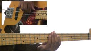 Bass Grooves - #135 1-5-6-4 Soul Breakdown - Bass Guitar Lesson - Andrew Ford