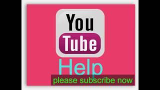 open new youtube channel - (Bangla tutorial)