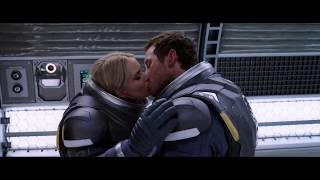 Passengers Romantic Scene
