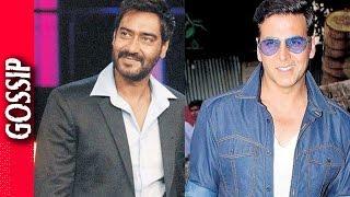 Akshay Kumar Makes Fun Of Ajay Devgn - Bollywood Gossip 2017