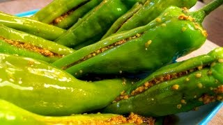 Hari Mirch ka Achar Recipe in Hindi - हरी मिर्च के अचार की रेसिपी - Indian Recipe in Hindi