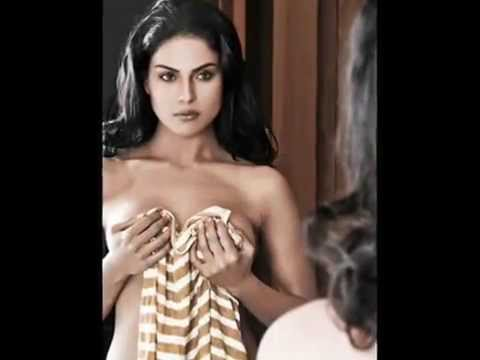 Hot Veena Malik Condom AD & MAKING