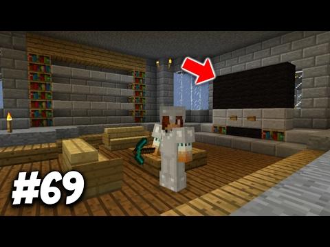 MY T.V. IN MINECRAFT! :0 | Minecraft Survival #69