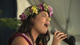 Aulii Cravalho performs