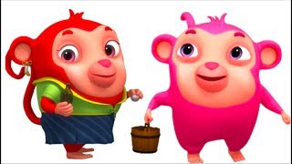 Jack & Jill  | Animinies | Videogyan 3d Rhymes | Nursery Rhymes & Kids Songs