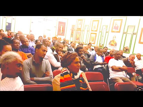 Kefale Alemu on Moresh Wegene Amhara Fundraising Event in London