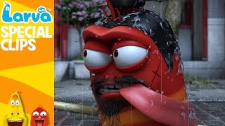 [Official] Rain - Fun Clips from Animation LARVA