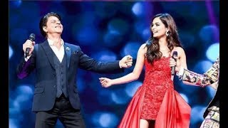 Shahrukh Khan Dance With Miss World 2017 Manushi Chhillar At Filmfare Awards 2018