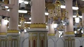 Roza-e-Rasool PBUH, Masjid-e-Nabvi, Madina Sharif.