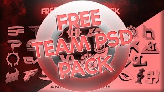 Free Team PSD Pack Download!!!