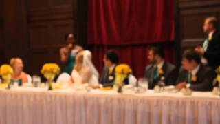 Jenny and Victor Wedding: Maid of Honor toast