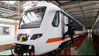 Airport train kicks off services with promotional fare