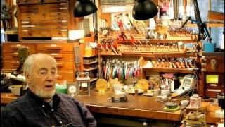 James A. Lea, The Village Clockmaker. Clock repair tutorial. #1.