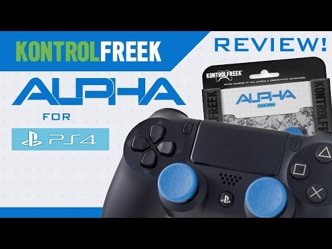 Kontrol Freek Alpha for PlayStation 4 PS4 Review! (Blue Edition)