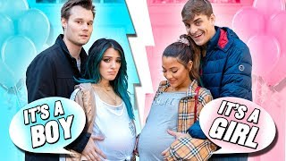 24 Hours Being Pregnant Challenge! Niki and Gabi