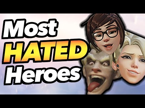 Top 5 Most Hated Heroes in Overwatch