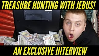 Storage Finds | Treasure Hunting With Jebus | An Exclusive Interview