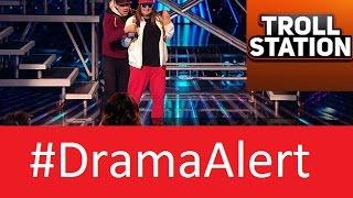 Honey G Mic Stolen on X Factor (FOOTAGE)  #DramaAlert YouTuber Dog Attempted Murder!