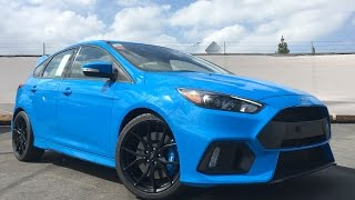 Matt Buys a 2016 Ford Focus RS! - First Canyon Drive