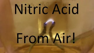 Nitric Acid From Thin Air
