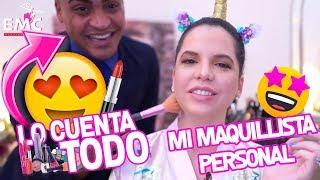 LES PRESENTO A MI MAQUILLISTA PERSONAL 👑 | LOOK NATURAL | EL MUNDO DE CAMILA