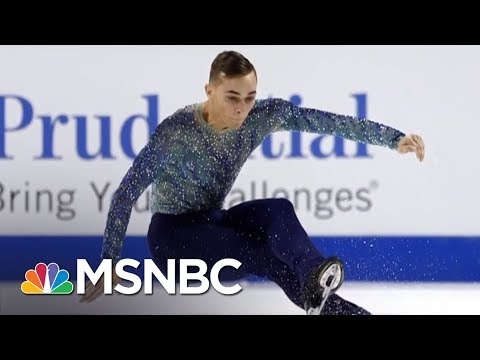 Olympic Athlete Adam Rippon Shines Light On Mike Pence's Anti LGBT Record AM Joy MSNBC