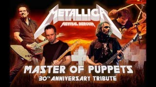 Metallica revival Beroun - Master of puppets 30th anniversary tribute preview