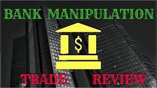 Bank Manipulation Trade Review