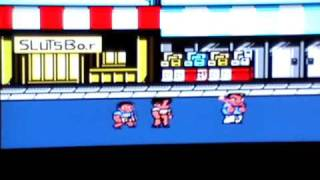 Fingers of Fury Labs - Pussy City Pimps (River City Ransom Romhack)